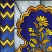 Vitrail, vitrail bleu