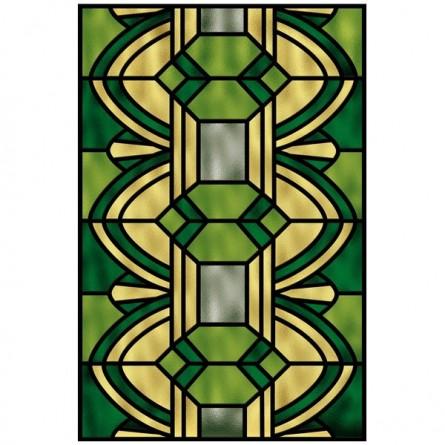 vitrail contemporain brise vue color pour pr server votre intimit. Black Bedroom Furniture Sets. Home Design Ideas