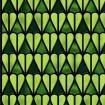 Vitrail autocollant, décor vert