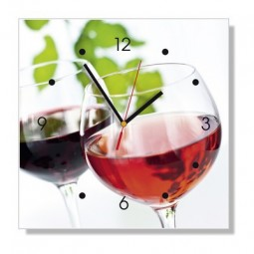 Pendule - Verre de vin