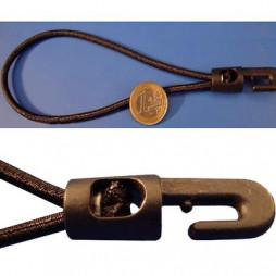 Boucle élastique à crochet