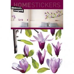 Adhésif mural-Fleurs de magnolia