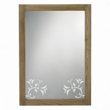 Stickers pour miroir, fleur 4