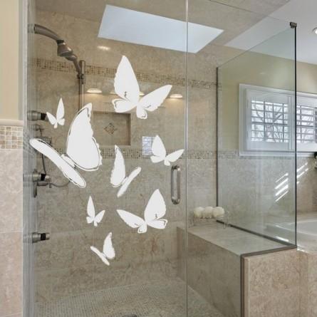 d coration sur vitre petit prix et une pose facile livraison rapide. Black Bedroom Furniture Sets. Home Design Ideas