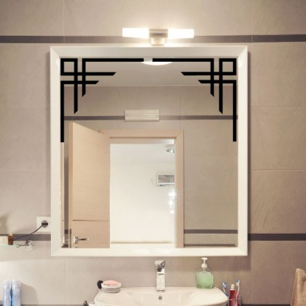 adh sif d co miroir angle design et pas cher. Black Bedroom Furniture Sets. Home Design Ideas