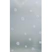 Film décoratif dépoli fleur blanche