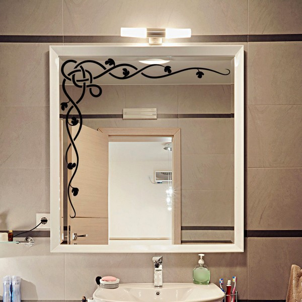 l la d coration de miroir une astuce conomique. Black Bedroom Furniture Sets. Home Design Ideas