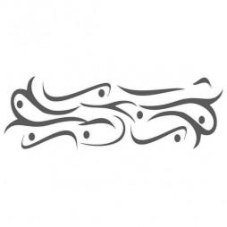 Stickers sur vitre, dessin maori