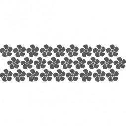 Stickers pour vitrage, fleur multi