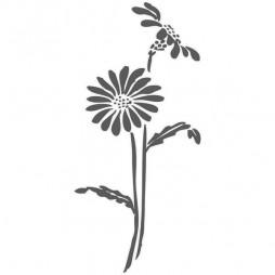 Sticker de vitre, fleur soleil