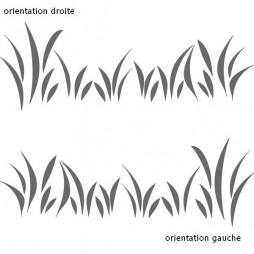 Stickers pour vitres, les herbes