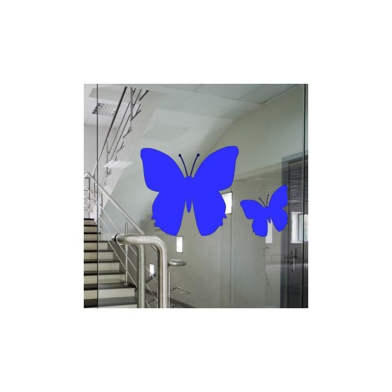 Marquage de signalisation, papillon-lot de 4