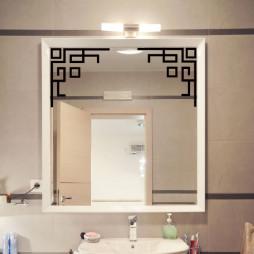 Décoration miroir, motif design