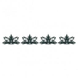 Frise décorative autocollant, motif gothique