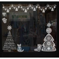 Sticker Sapin noël russe