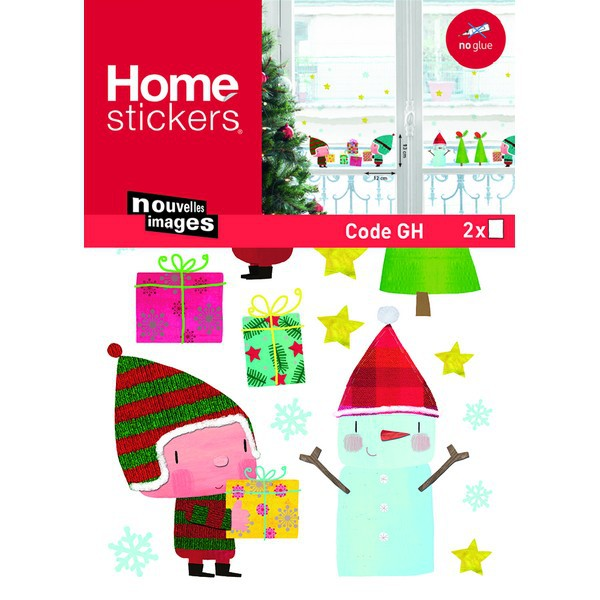 stickers lutin de noel