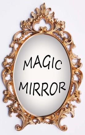 la décoration de miroir